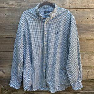 Men's Ralph Lauren Button Down Dress/ Casual Shirt
